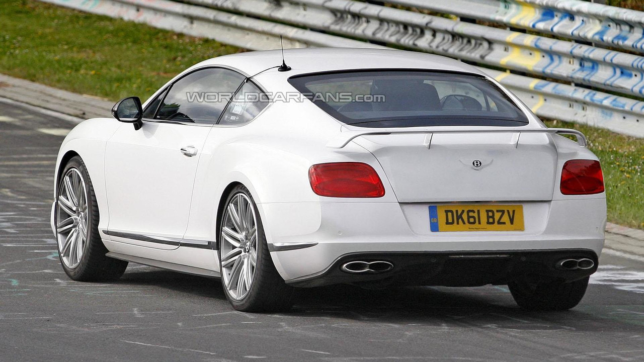 Bentley Continental GT V8 RS spy photo