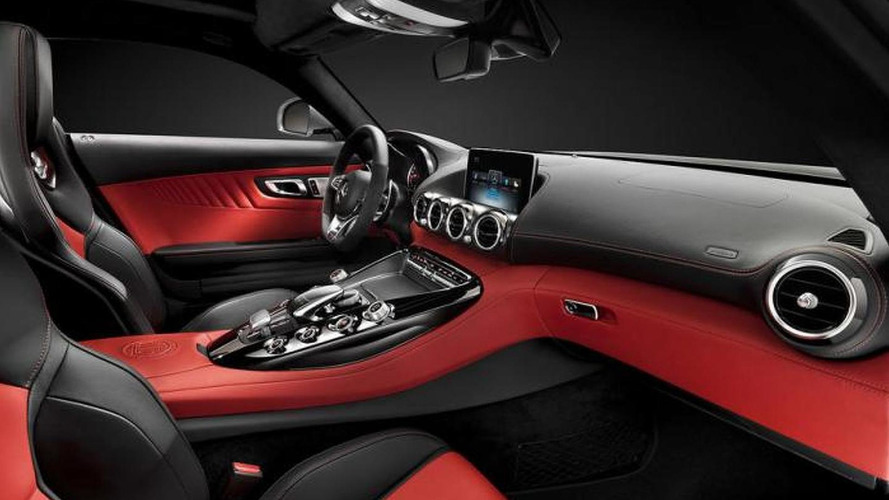 2015 Mercedes AMG GT interior photos leaked