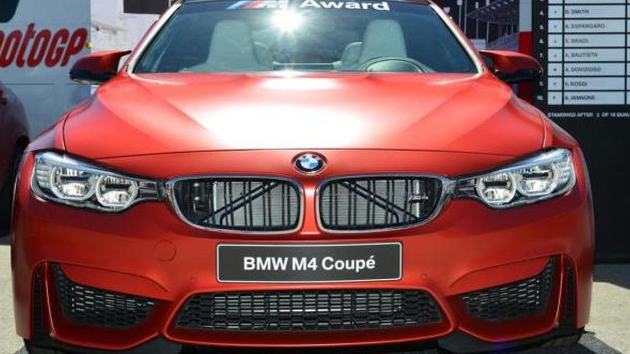 BMW unveils an M4 Coupe for the MotoGP best qualifier