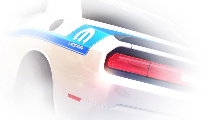 2014 Dodge Challenger Mopar Edition teased
