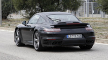 2015 Porsche 911 Turbo facelift / GTS spied in Spain [video]