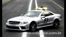 Mercedes Benz SL63 AMG - Novos Safety Car e Medical Car da Fórmula 1 2008