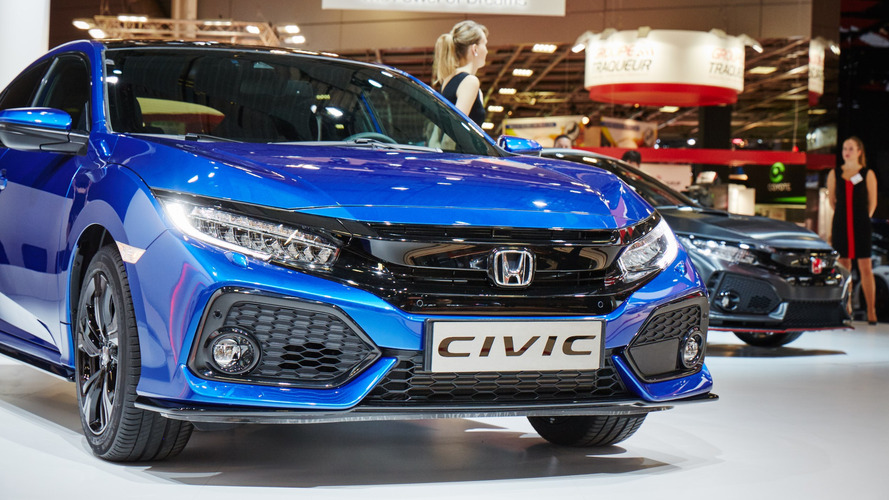 2017 Honda Civic Paris'e iki VTEC turbo motor ile geldi