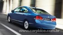 Honda New Civic híbrido tem dianteira e traseira com visual diferente na Itália