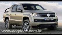 Volkswagen Robust SUV - Pick-up servirá como base para novo utilitário esportivo