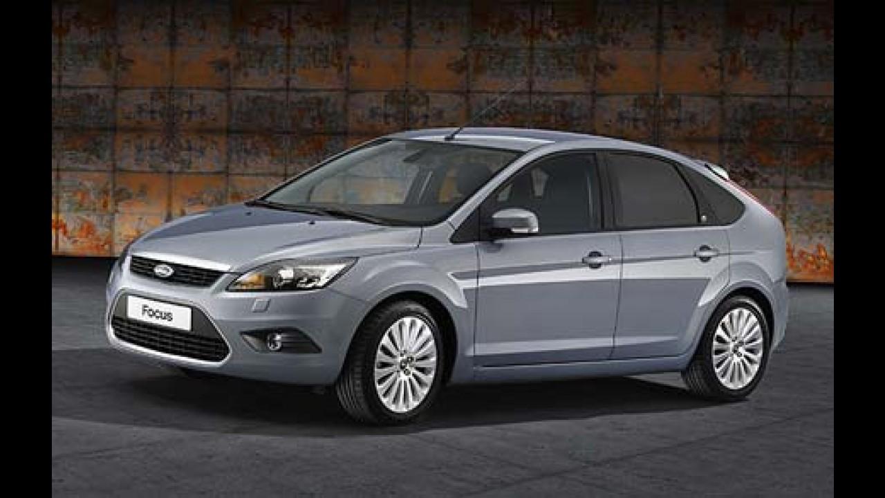 Apresentado o Ford Focus 2008 europeu com novo design