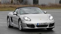 2012 Porsche Boxster spied undisguised in silver