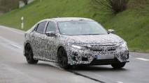 Honda Civic Hatchback kamuflajlı görüntülendi