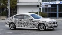 2017 BMW 5 Serisi Sedan casus fotoğrafları