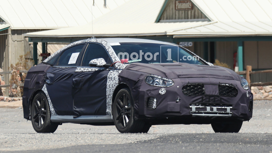 Refreshed Hyundai Sonata spied with future performance model