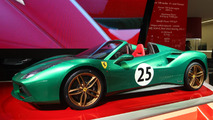 Ferrari 488 Spider 70th anniversary Paris Motor Show