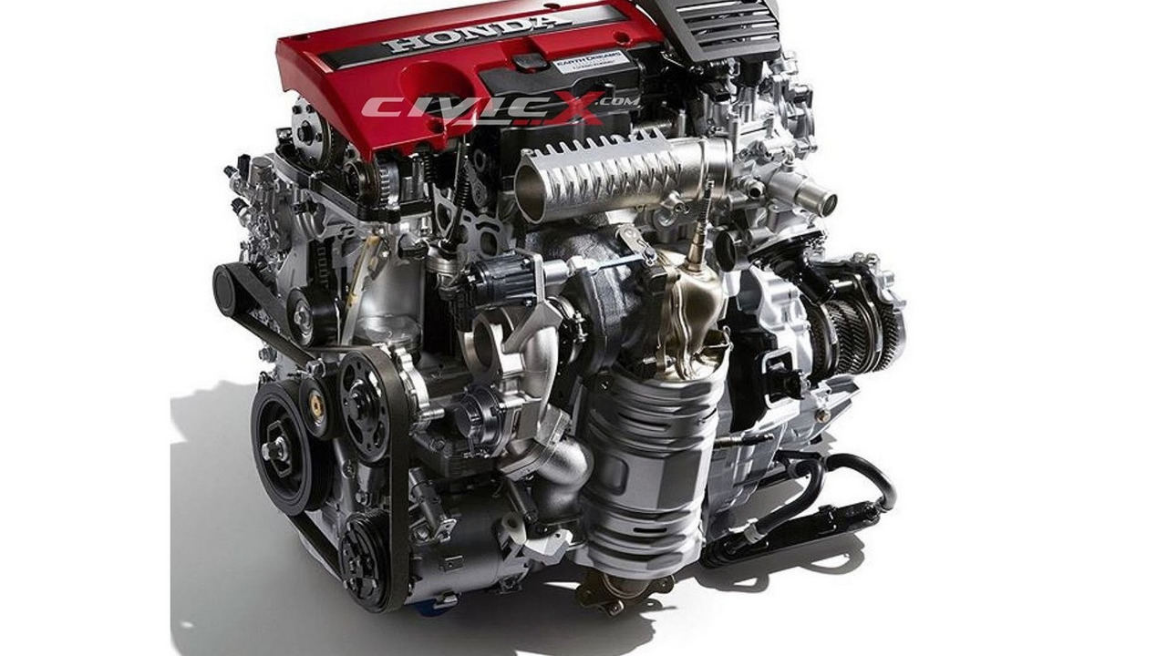 Honda turbo 2.0-liter engine
