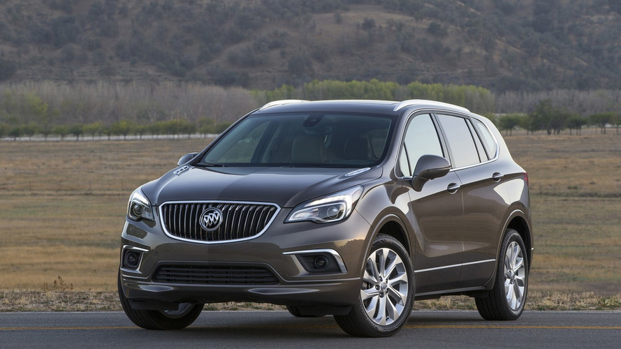 2016 Buick Envision lands in Detroit with 252-hp turbo engine [videos]