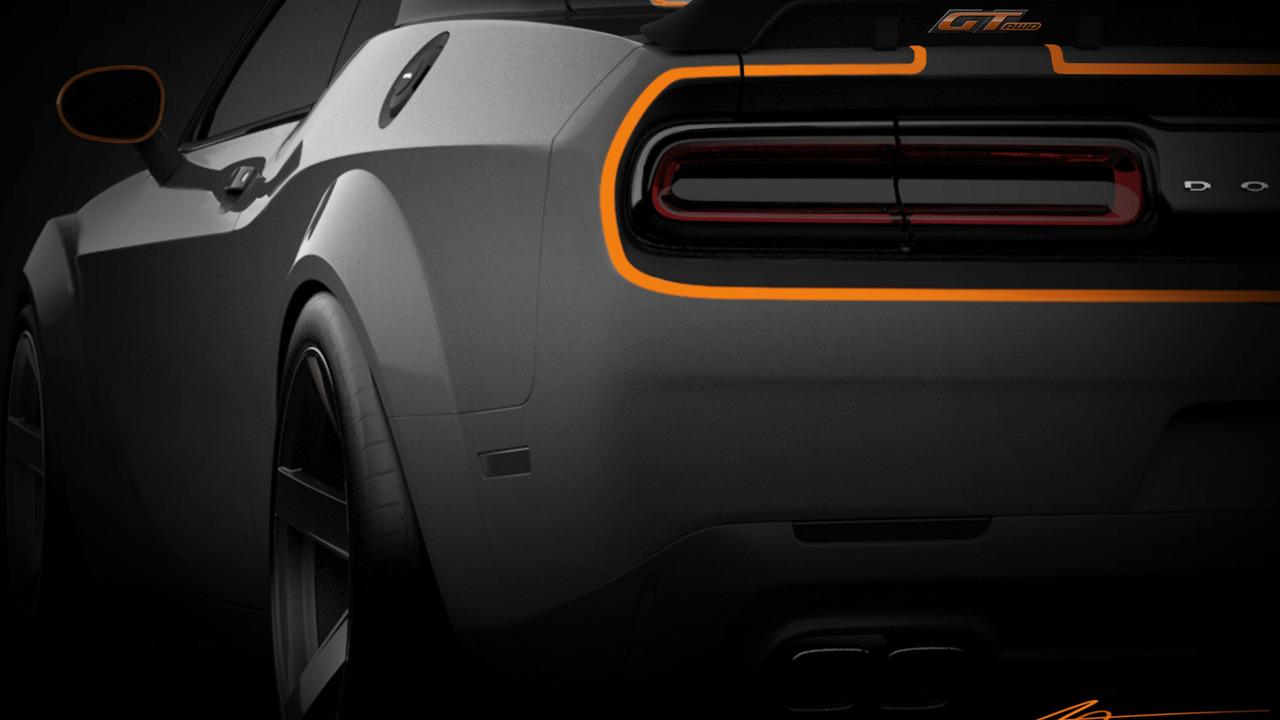 Dodge Challenger for SEMA