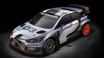 2016 Hyundai i20 WRC rally car