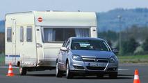 Opel Astra trailer stability program