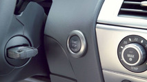BMW 650i engine start button