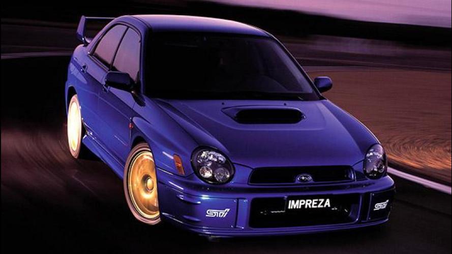 Subaru Impreza, intramontabile mito dei rally