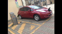 Nissan Leaf, test di consumo reale Roma-Forlì