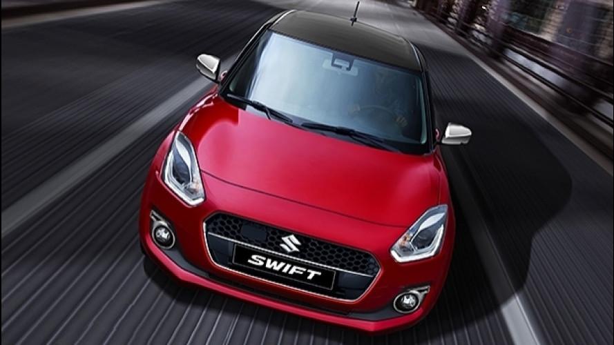 Nuova Suzuki Swift Web Limited Edition, ibrida per iniziare
