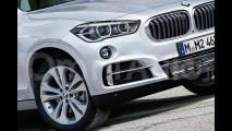 BMW X2, il rendering