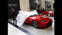 Aston Martin V12 Zagato: accento inglese, abito italiano