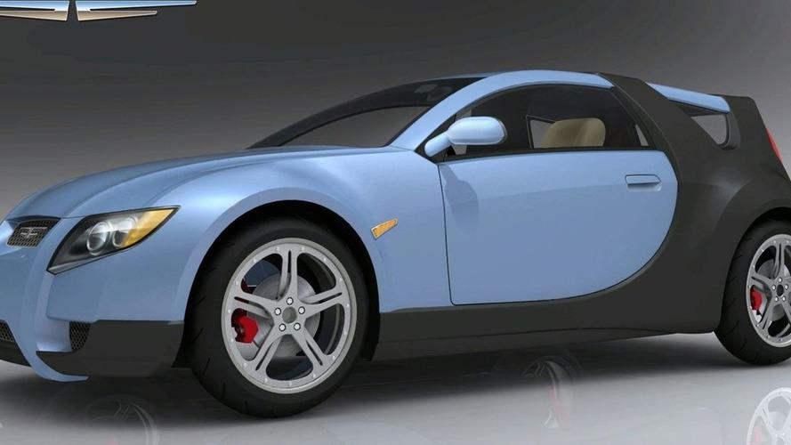 Motive BEHEV Electric Car Renderings
