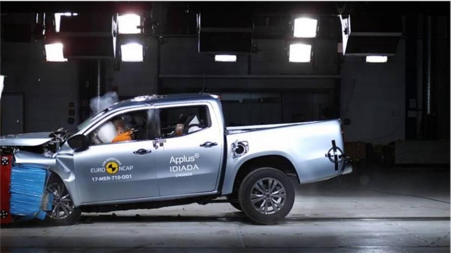 Mercedes-Benz Classe X recebe 5 estrelas em crash-test do Euro NCAP