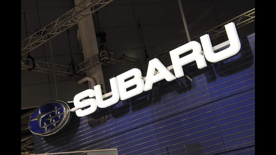 Subaru al Salone di Parigi 2012