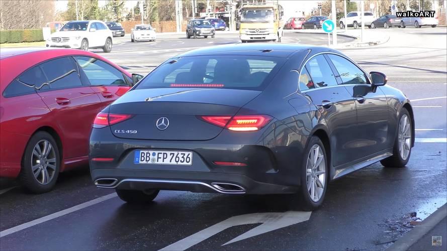 Forgalomban bukkant fel az új Mercedes-Benz CLS 450