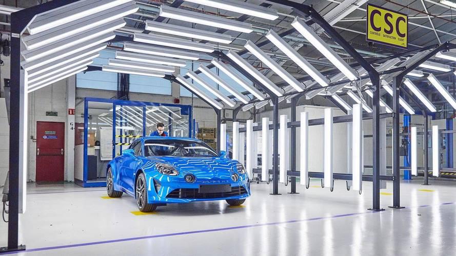 La ligne de production inaugurée — Alpine