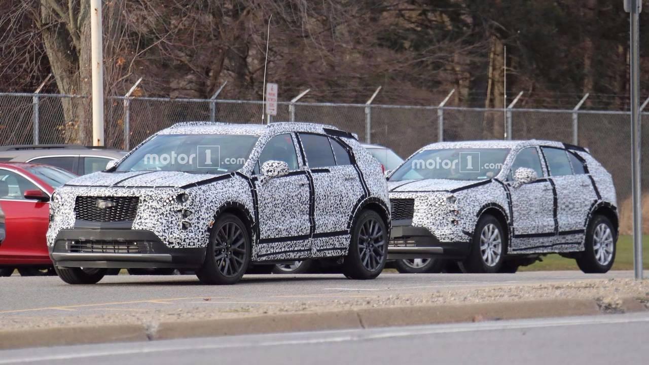 2019 Cadillac XT4 Kamuflajlı Fotoğrafları