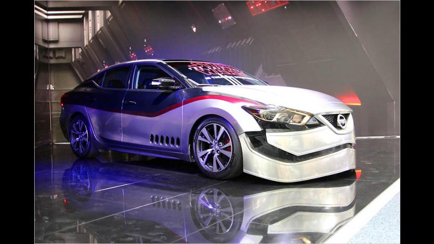 Nissan zeigt irre Star-Wars-Autos auf der LA Auto Show