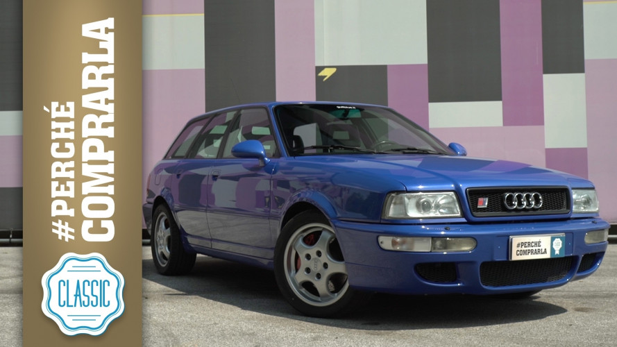 Audi RS2, perché comprarla... Classic