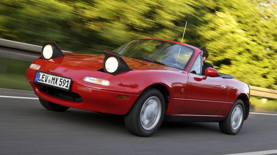 Mazda MX-5 gelişim