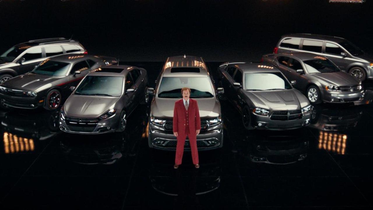 Ron Burgundy Anchors New 2014 Dodge Durango Advertising
