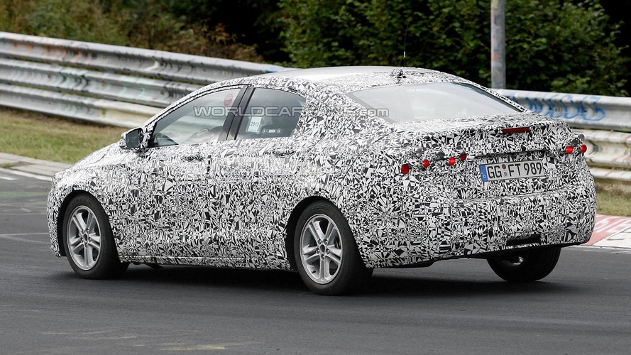 2016 Chevrolet Cruze spied enjoying open roads of Nurburgring [video]