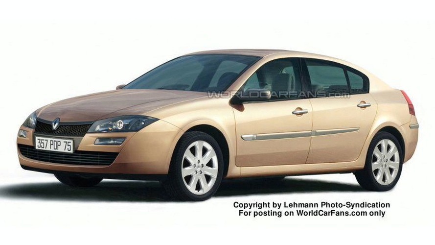SPY PHOTOS: Renault Laguna