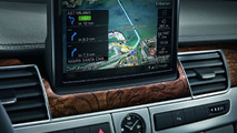 Audi A8 MMI navigation system with Google Earth