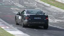 2012 Mercedes SLK spy photo at Nurburgring