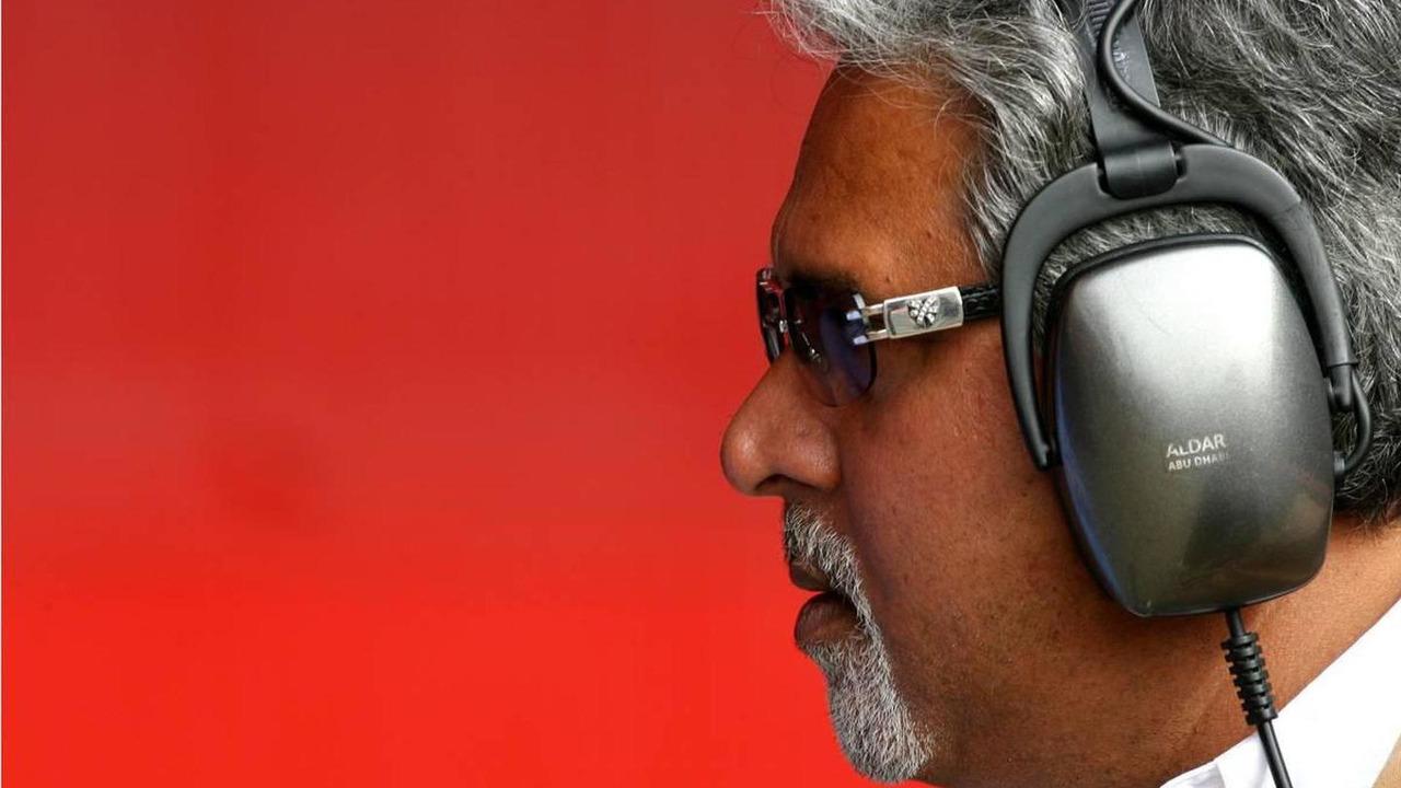Vijay Mallya (IND), CEO Kingfisher - Formula 1 Testing, Barcelona, 26.02.2008 Barcelona, Spain