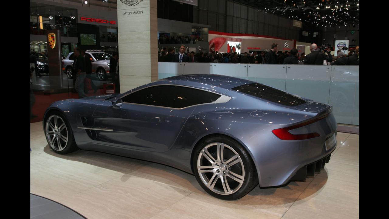 Aston Martin Project One-77 al Salone di Ginevra 2009