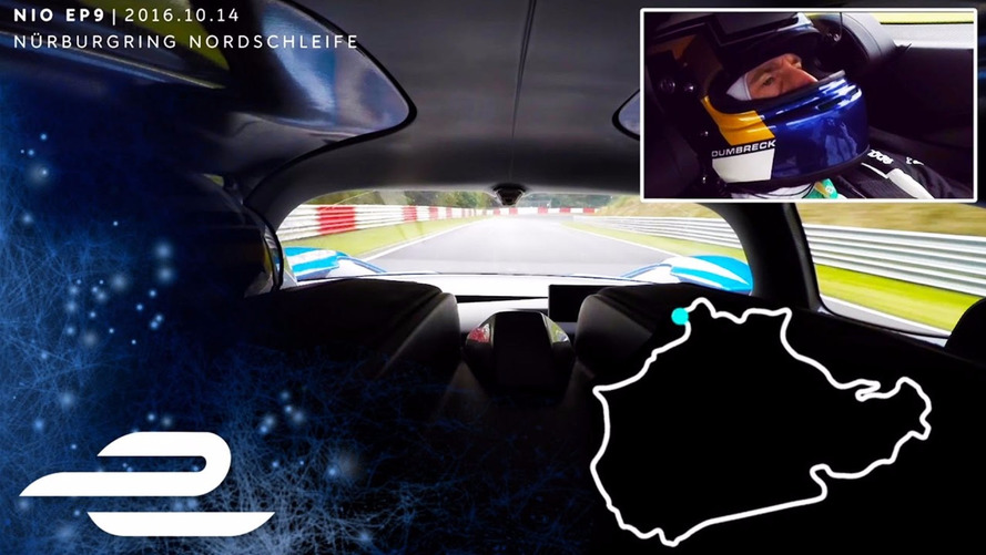 Nio EP9 EV Conquers Nürburgring In Full Onboard Video Of Record Lap