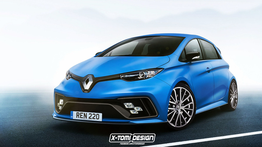 Renault Zoe RS render
