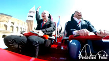 Ferrari Roller Coaster Pigeon Video