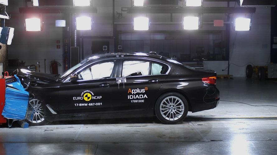 Yeni BMW 5 Serisi'ne Euro NCAP'ten tam not