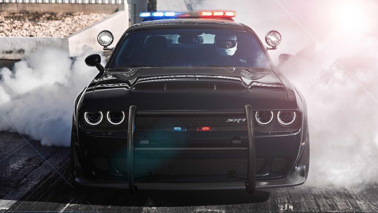 Dodge Demon Police Car
