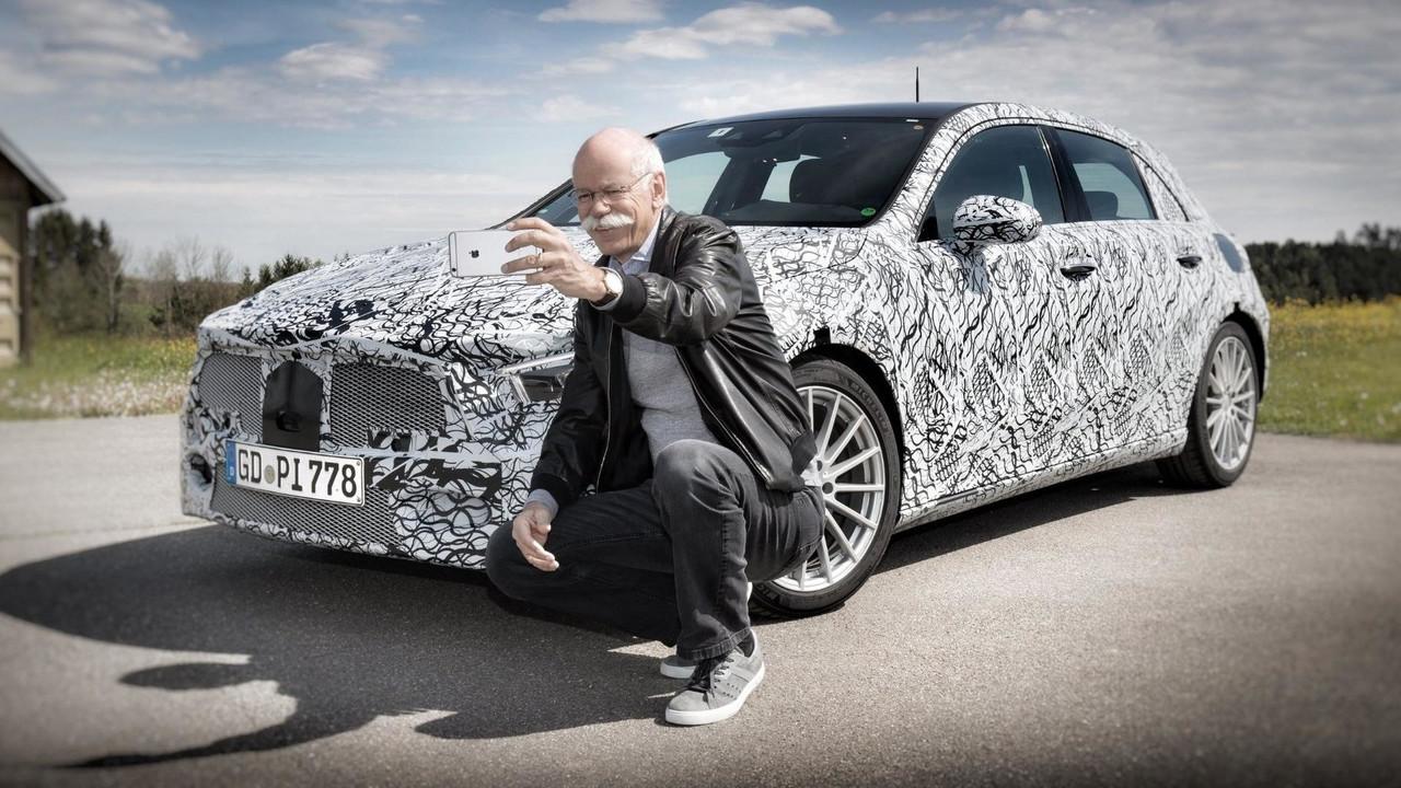 Teaser Mercedes Clase A 2018