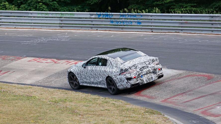 Ezúttal a Nürburgringen bukkant fel a Mercedes AMG GT4 prototípusa