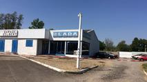 Conession Lada abandonnée en France